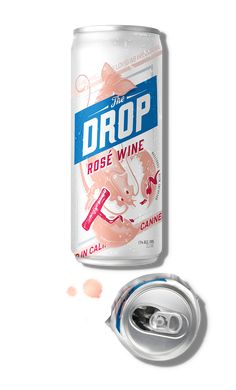 The Drop Canned Rose Wine
