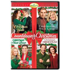Hallmark Holiday Collection (Christmas Next Door / The Christmas Train / Christmas at Holly Lodge / Christmas in Homestead) Family Christmas Movies, Christmas Lodge, Hallmark Christmas Movies, Hallmark Movies, Christmas Countdown, Christmas Holidays, Holiday Movies, Merry Christmas, Hallmark Weihnachtsfilme