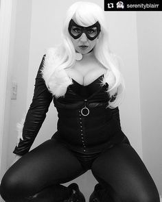 Tag or DM @nerdy_girls_do_it_better for a repost! #nerdy_girls_do_it_better   #Repost @serenityblairr (@get_repost)  I'm really in love with this cosplay! I need to do a better shoot soon!!!  . . . #blackandwhite #blackcat #blackcatcosplay #marvel #marveluniverse #marvelcosplay #bööbs #thicc #thickthighs #thickchicks #thickthighssavelives #thick #spiderman #cosplay #cosplayer #cosplaysky #goodandevil #evil