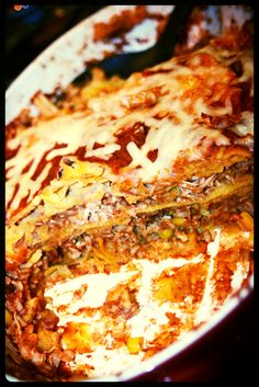 Clean Eating Chicken Enchilada Casserole, lots of other great recipes and fitness tips as well