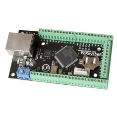 PoKeys56E is an easy-to-use Ethernet IO device that combines a lot of inputs and outputs, and does not require complex programming knowledge.
