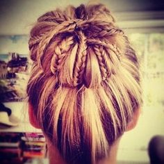 For when my hair is long enough to put in a bun again.  Beautiful.