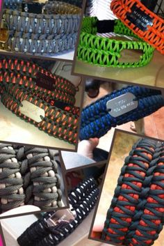 Paracord Dog Collars ((2))