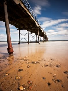Victorian Pier by Peter Edwardo Vicente. Middlesbrough, Take Me Home, North Yorkshire, Seaside, Surfing, Spaces, Boro, Durham, Beach