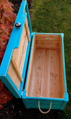 Reclaimed wood Chest EZ to build with right tools