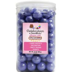 Sweetworks Gumballs Jar, 34 oz, Shimmer Lavender >>> Final call for this special discount  : Baking desserts tools
