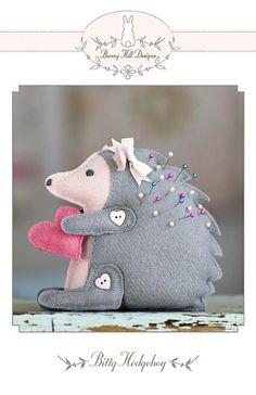 Bunny Hill Designs - Bitty Hedgehog