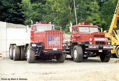autocar+truck | Re: EARTH SHAKIN'/ROAD QUAKIN' EARTH MOVERS (trucks, etc.)