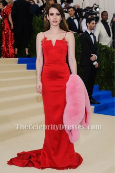 Emma Roberts Red Eve