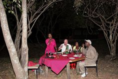 The Mad Hatters Tea Party...in the Masai Mara Kenya  http://philipselwood.com/travel-photos/