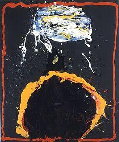 Jules Olitski, Patutsky Embraced - Black and White Abstract Painters, Abstract Art, Ukraine, Jules Olitski, Howard Hodgkin, Tachisme, Action Painting, Art Moderne, Henri Matisse
