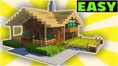 here Minecraft building tutorials on how to build modern and small survival style houses! Gaming Entertainer - Main Focus is Minecraft Tutoria.