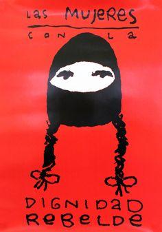 The Zapatista cooperative Las Mujeres con la Dignidad Rebelde, 'The Women with the Dignity to Rebel'.