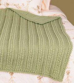 Free pattern Aran Afghan Throw : Crocheting Accessories : Crocheting Projects :  Shop | Joann.com