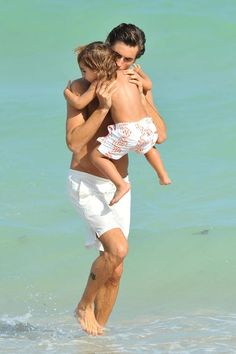 Scott Disick with Mason
