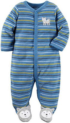 4c51c59e2d1b8 Carters Baby Boys Terry Blue 3 Months    Click on the image for additional  details