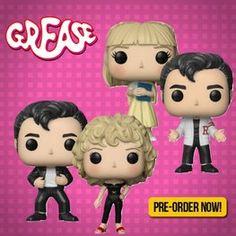 Funko POP! Set of 4 PRE-ORDER Grease