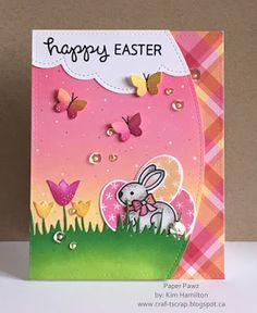 Paper Pawz: Lawn Fawn Easter Project!