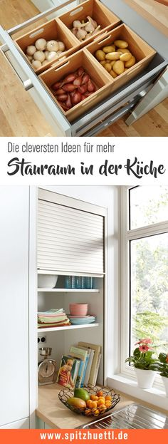 Storage space ideas for your kitchen- This is how you can create order in your kitchen! With our best tips for more storage space in the kitchen. We are happy to assist you at Spitzhüttl Home Company Möbelhaus Würzburg. Source by spitzhuettl - Kitchen Storage, Storage Spaces, Furniture Makeover, Diy Furniture, Cocina Diy, Ikea Bedroom, Storage Design, Storage Ideas, Küchen Design