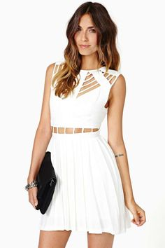 Nasty Gal Attract Mode Dress