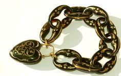Victorian Tortoiseshell Pique Bracelet