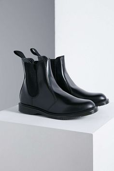 Dr. Martens Flora Chelsea Ankle Boot - Urban Outfitters