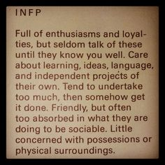 infp   infp   Quotes for living by...