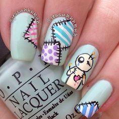 Vodo Doll nails