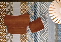 Azulej Tiles by Patricia Urquiola for Mutina