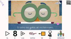 VÍDEOS - Canta con BabyRadio: Los números.  Video y canción de BabyRadio para aprender los números del 1 al 10, adaptada con pictogramas de ARASAAC.