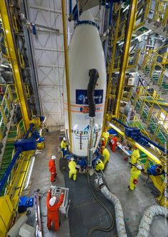 Arianespace gallery Archive -Sentinel 2B Carénage  (1)