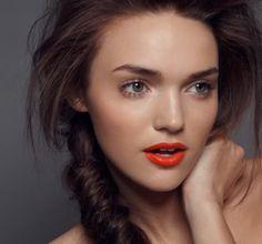 Wearable Orange Lips