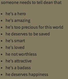 He is all of this AND more.
