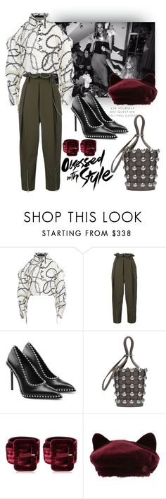 """Obsessed with Style"" by ildiko-olsa ❤ liked on Polyvore featuring Alexander Wang, Attico and Maison Michel"