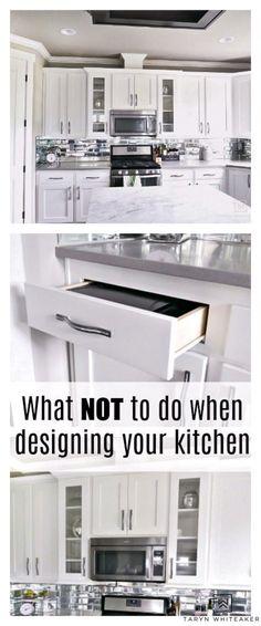 New Kitchen Cabinets, Old Kitchen, Kitchen Countertops, Kitchen Cupboard, Kitchen Sinks, Cupboards, Beautiful Kitchen Designs, Beautiful Kitchens, Kitchen Furniture