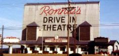 One of the best ways to spend a Friday night when you're a kid. Ronnie's was the biggest drive-in I'd ever seen. Such a shame it's no longer there. Drive In Movie Theater, Outdoor Theater, Jefferson City, Pediatric Dentist, Retro Summer, The Good Old Days, Back In The Day, Old Pictures, St Louis