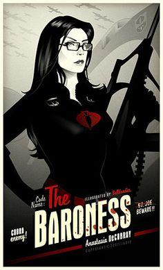 The Baroness - via www.StephenHunt.net