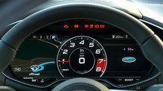 2015 Audi TT Virtual Cockpit
