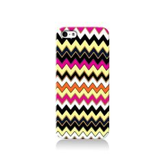 Funky Chevron is available for iPhone 4/4S, iPhone 5/5s, iPhone 5c and new iPhone 6. The picture shows the design on an iPhone 5/5s case    Our