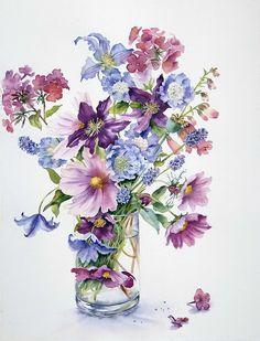 Ann Mortimer watercolor