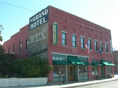 The Grand Hotel, Big Timber, Montana.  Constructed in 1890 after the railroad came through town.  It is  listed on the National Register of Historic Places.