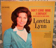 Loretta Lynn Don'T Come Home A Drinkin' MCA 113 SEALED LP Vinyl SS   eBay