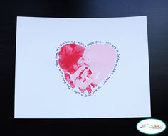 Valentines Card from the kids to Mom, Dad, Teachers, or Friends. So Easy and Affordable. Better than the store bought.