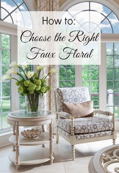 The secret to choosing the right faux floral for your space. - Lauren Nicole Designs