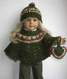 AG Doll crochet outfit - inspiration only