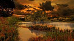 Sublime Evening Sunset - Sunsets Wallpaper ID 800461 - Desktop Nexus Nature