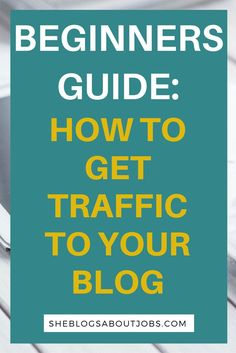 Learn how to get traffic to your blog to help grow your blog and your income. These are simple sites that you can use to get traffic to your blog for free!