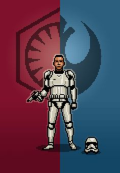 Force Awakens Pixel Art on Behance