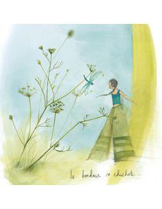 """Anne Sophie Rutsaert Carte d'Art """"Le Bonheur se chuchote"""""""