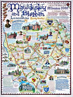 the Mawdesley Millenium map